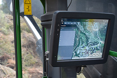 Waratah Forestry Equipment enhances TimberRiteTM H-16 with mapping technology option