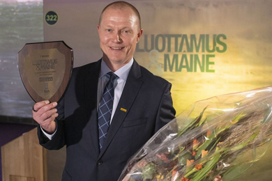 Ponsse once again the most reputable company in Finland