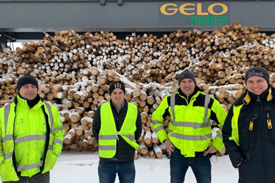 Gelo Timber in Wunsiedel – saw mill for small diameter logs starts operation
