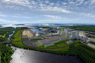 Metsä Group builds a new bioproduct mill in Kemi, Finland