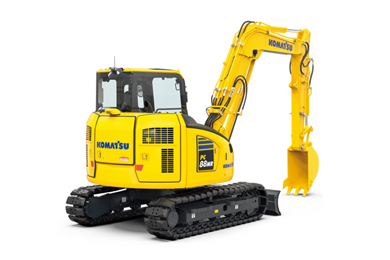 Komatsu's PC88MR-11 excavator delivers higher productivity