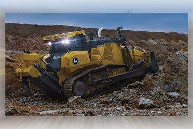 John Deere enhances Dozer Lineup with 950K, 1050K machine improvements