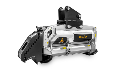 The FAE line of excavators with Bite Limiter technology goes beyond limits with the new BL4/EX/VT forestry mulcher