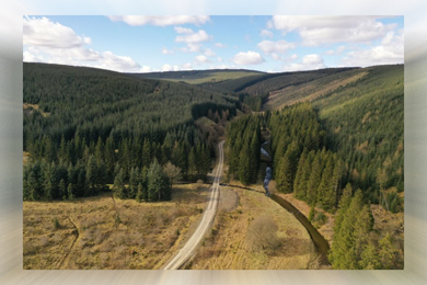 Forests extending to 745 hectares on market for £14m