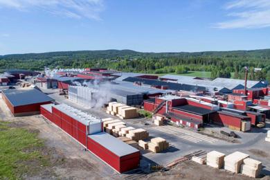 The sawmills in Bygdsiljum & Kroksjön – now a part of Holmen