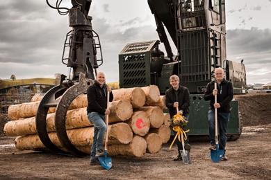 Tschopp Holzindustrie AG sawmill – Groundbreaking Ceremony For Chf 75 Million Investment