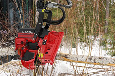 Waratah Forestry Equipment unveils new H425, H425HD & H425X harvester heads