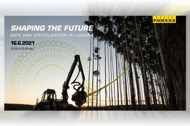 Welcome to Shaping the Future – Data and Digitalization in Loggingwebinar!