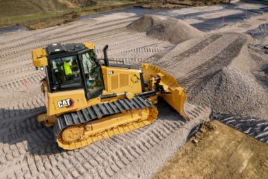 New Cat® D4 Dozer Offers Better Visibility, More Productivity-Boosting Technology Choices, Lower Operating Costs