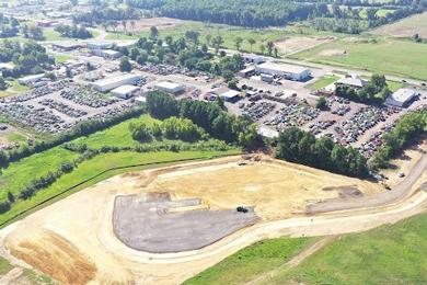 Construction starts on Drax's second biomass pellet plant in Arkansas