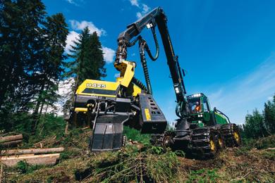 John Deere introduces new H423 & H425 Harvester Heads
