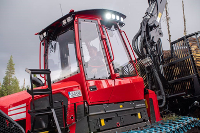 Great news for all forwarder operators – the next generation of Komatsu Comfort Ride is here