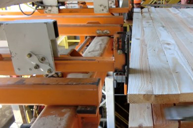Thompson River Lumber updates its sawmill stacker