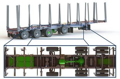Hybrid trailer-trucks: A breakthrough towards the electrification of heavy trucks